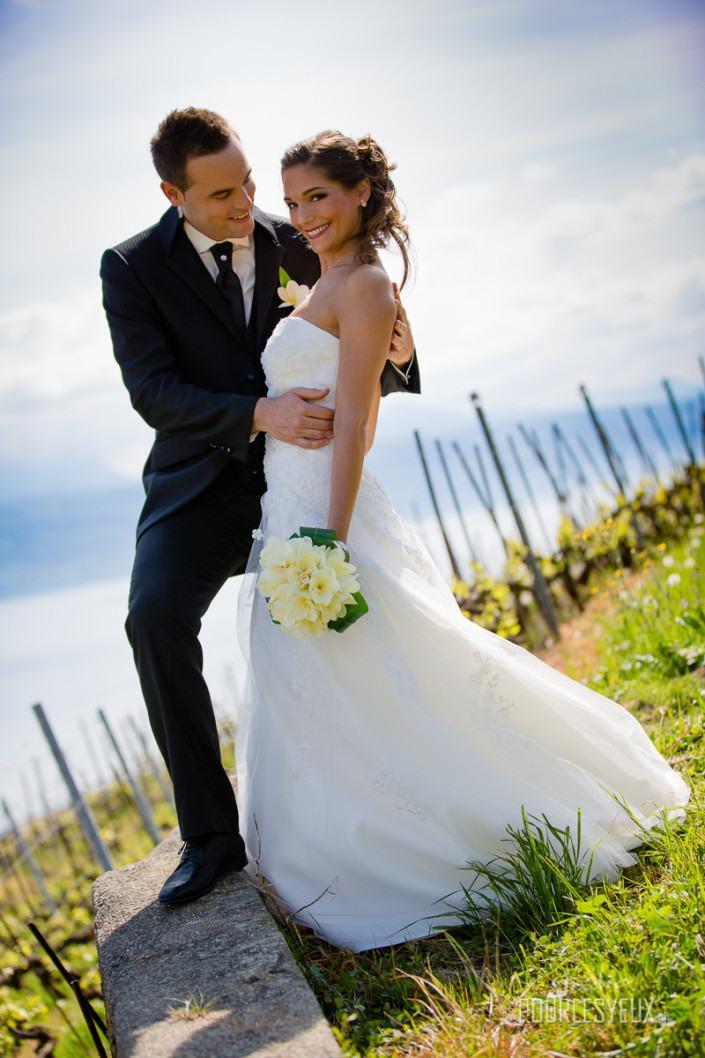 mariage geneve photographe vignes amour