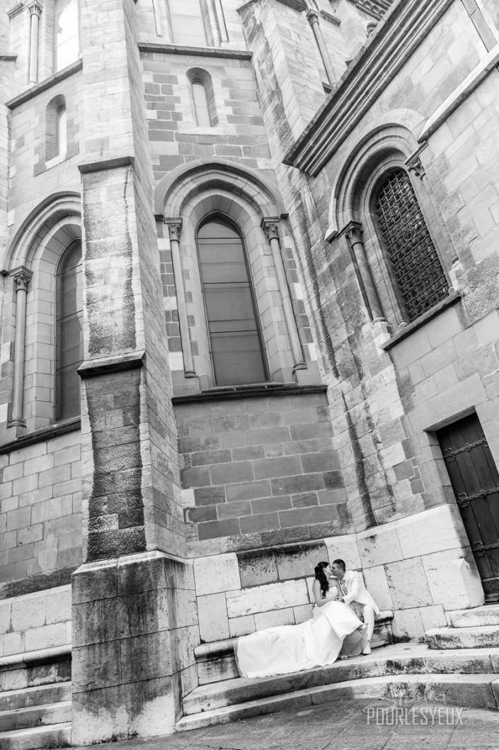 cathédrale mariage geneve photographe vieille ville