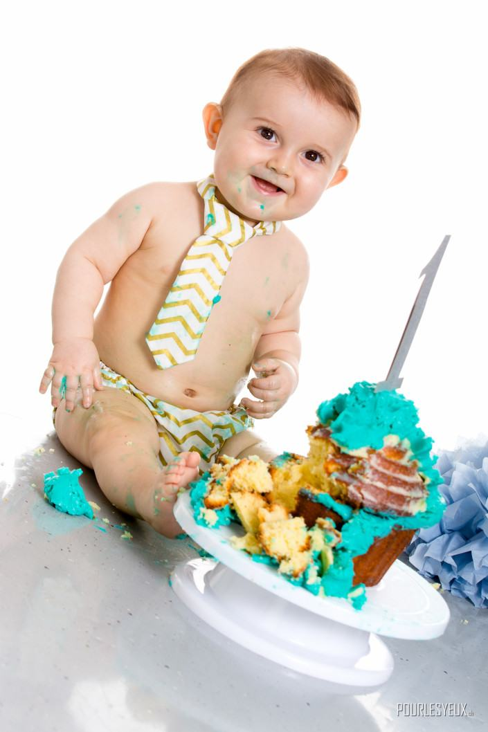 anniversaire enfant cake smash photographe geneve