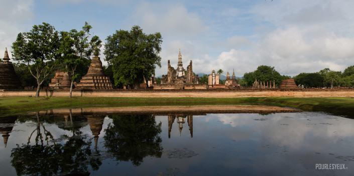 photographe geneve thailande ruines bouddha exterieur