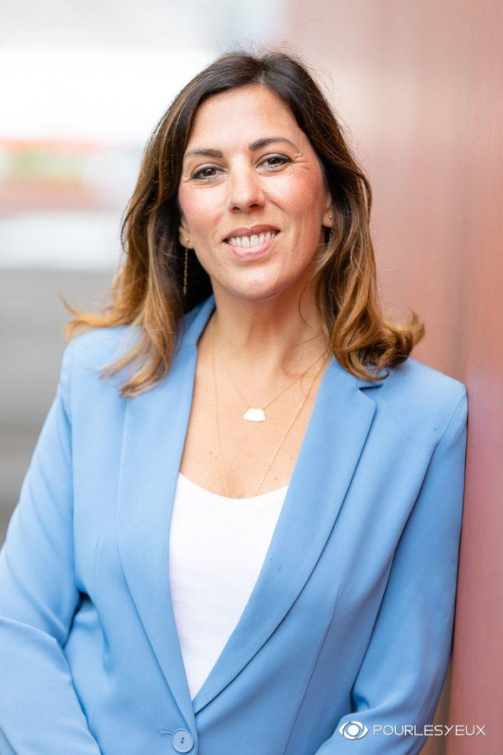 Portrait corporate CV pour femmes - Photographié à Genève