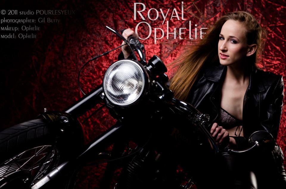 royal enfield photographe geneve moto femme