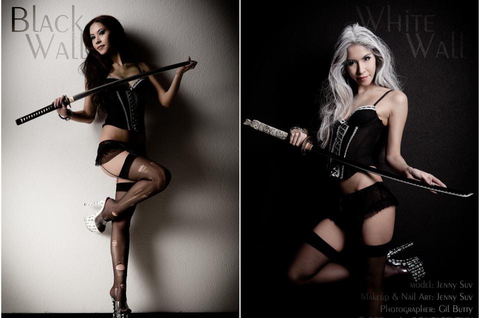 theme photographe geneve bw bad girl femme
