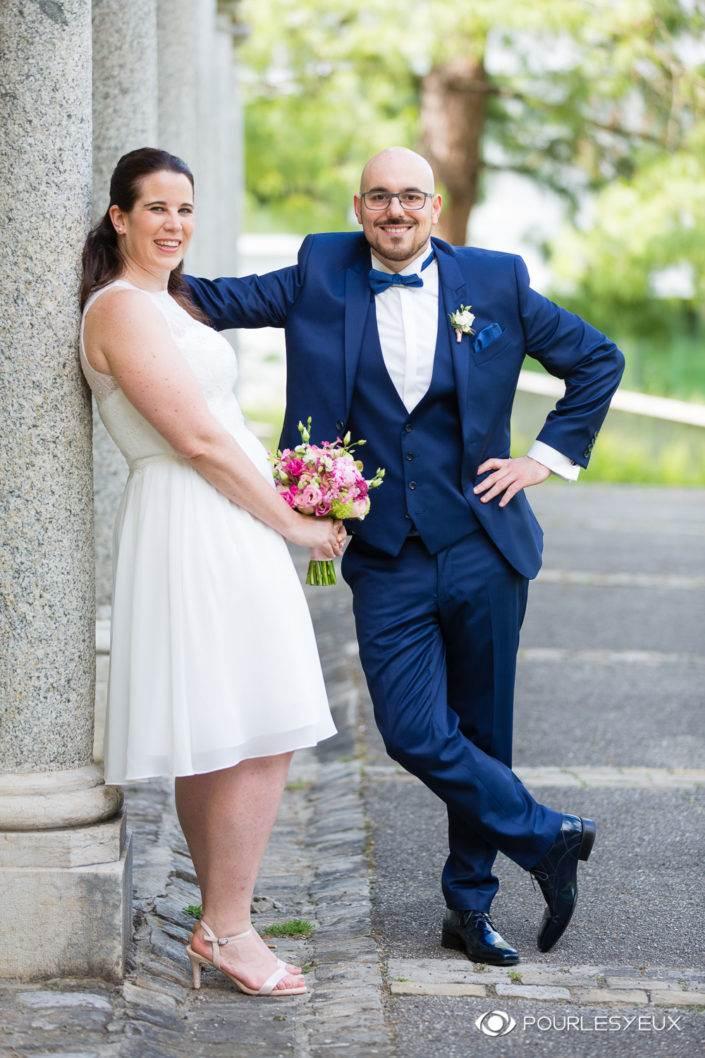 Photographe mariage Genève couple marié marier mairie suisse union