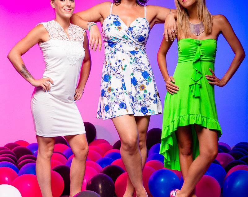 photographe genève suisse maquillage maquilleuse ballons fête anniversaire trio mode femmes filles copines amies